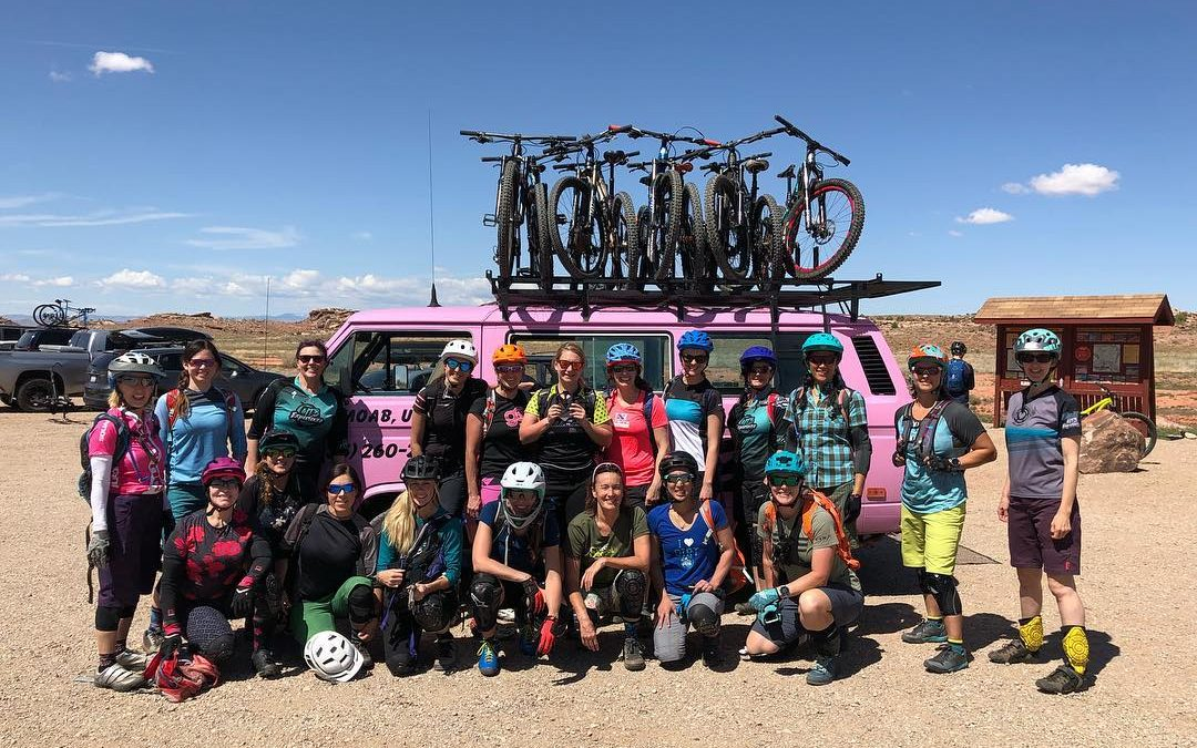 Women's MTB Weekend Recap- Moab Utah