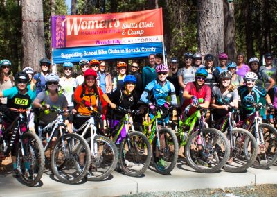Nevada County Women's MTB Skills Clinic and Camp / October 13th & 14th 2018